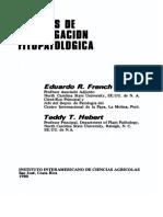 Metodo de Investigacion Fitopatologia