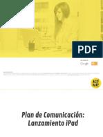 Caso Práctico. Plan de Comunicación de iPad