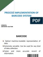 Barcode Ppt @ Ssali-II 2013