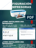 CONFIGURACIÓN DE IMPRESORAS