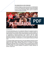 Caso de Corrupción en El Perú