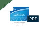 Statie Stonex r2w manual