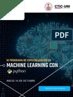 3PEA en Machine Learning 2018 14.10.18