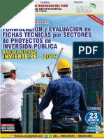 FORMULACIÓN Y EVALUACIÓN DE FICHAS TÉCNICAS POR SECTORES