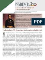 Bicentenario de la Batalla de El Juncal27 de septiembre de 1816