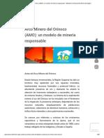 Arco Minero Del Orinoco (AMO)_ Un Modelo de Minería Responsable - Ministerio de Desarrollo Minero Ecológico