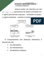 fundamentação hidromecanica