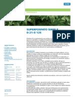 Superfosfato Simple