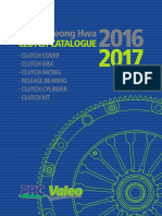 PHC VALEO Clutch Catalogue 2016-2017