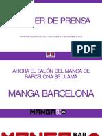 25 Manga Barcelona. CAS