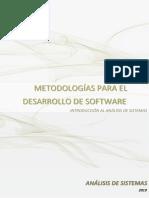 Metodologia Para El Desarrollo de Sotfware