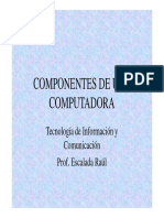 Componentes de Una Computadora Modo de Compatibilidad