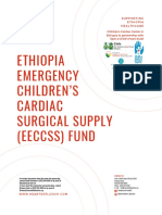 Emergency Children's Cardiac Surgical Supply (Eeccss) Sponsorship Package
