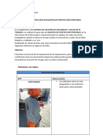 Informe de Inspeccion de Epp
