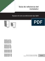 Daikin Guía de referencia del instalador