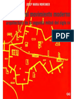 Montaner, J. (2009) Despues Del Movimiento Moderno 1 (1930-1965)