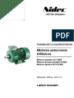 Instalacion y Mantenimiento Motores Asincronos Trifasicos