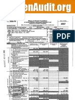 2007 Form 990-PF for The C.O.U.Q. Foundation