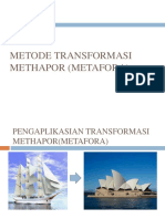 METODE TRANSFORMASI METHAPOR