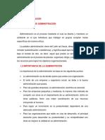 CONCEPTOS BÁSICOS DE ADMINISTRACIÓN