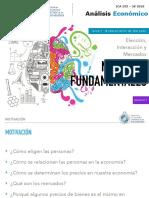 1.1 Analisis - Principios Eleccion, Interaccion y Mercados
