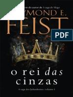 O Rei das Cinzas - Raymond E. Feist.epub