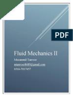 Fluid Mechanics II Muzammil Tanveer
