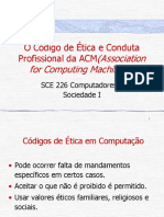 Slide - O Código de Ética e Conduta Profissional da ACM - Association for Computing Machinery.pdf