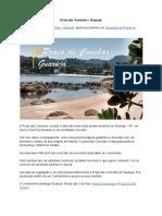 Praia Das Conchas – Guaruja