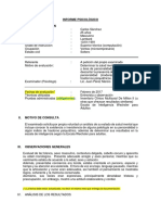 Modelo Informe de Salud Mental 1