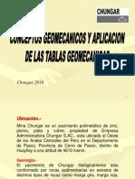 Conceptos Geomecanicos y Aplicacion de Las Tablas Geomecanicas...