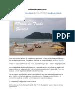 Praia de Sao Pedro Guaruja