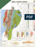 Mapa General de Suelos Del Ecuador