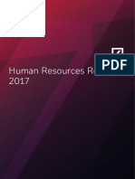 Deutsche Bank Human Resources Report 2017