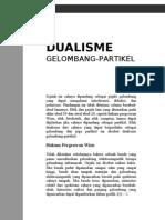 Dualisme Gelombang Partikel