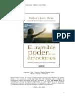 El Increible Poder de Las Emociones Esther y Jerry Hicks