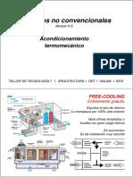 Sistemas No Convencionales de Acondicionamiento Termomecanico