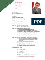 CV Préfet SORAIN Dominique