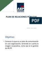 Plan de Relaciones Públicas