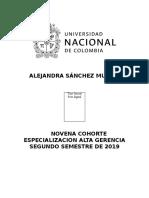 Formato Hoja Vida Especialización en Alta Gerencia 9a Cohorte ALEJANDRA