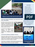 Embajada de Bolivia en Ecuador - Boletín 2 2019 (Abril a Junio)