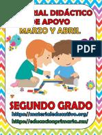2° Material de apoyo  Marzo-Abril εїз (•ิ_•ิ) εїз