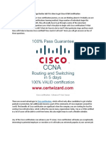 Want to Improve Your CV and Get Better Job It is Time to Get Cisco CCNA Certification