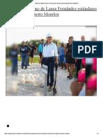 Refuerza gobierno de Laura Fernández estándares de calidad de Puerto Moreloss