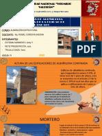 Presentacion de Alabñileria Estructural...