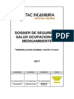 Dossier de Seguridad - Jockey