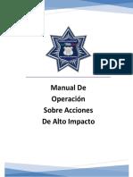 Manual acciones de alto impacto