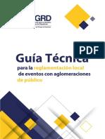 Guía Técnica para la Reglamentación Local de Eventos con Aglomeraciones de Público