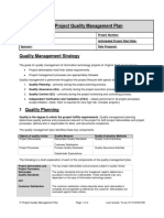 IT Project Quality Management Plan