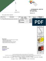 Cotizacion Kupfer Cotizacion N° 0022647126